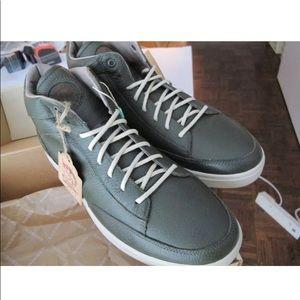 DIESEL Mens Leather Sneakers Olive Night var sizes